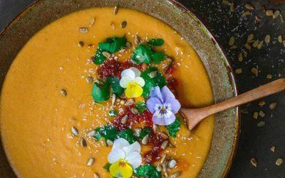 Red Lentil Hippy Soup